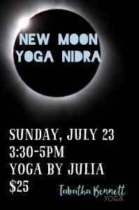 New moon yoga Nidra
